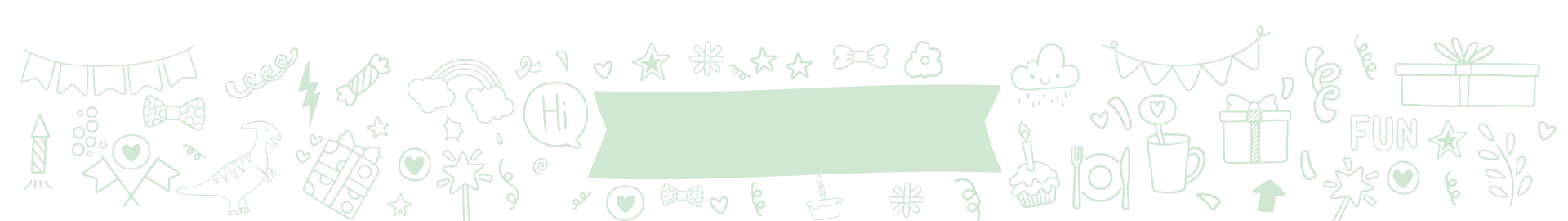 Mes invitations pour fête d'enfant zéro déchet | Dinette ZD